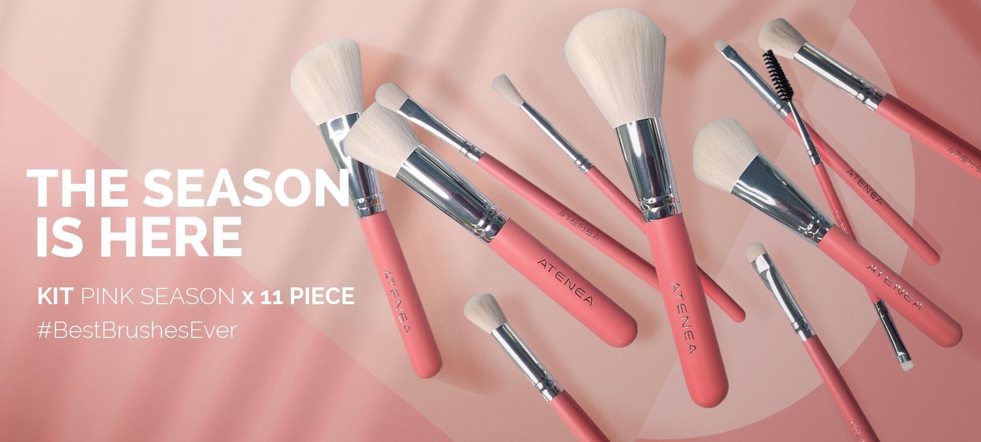 Kit de Brochas Pink Season